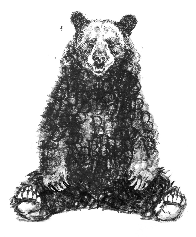 Bear with legs sml